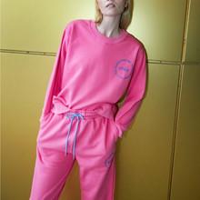 Cras Shocking Pink Carol Sweatpants