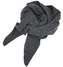 Mathlau Antrzit Lambswool Tørklæde