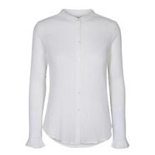 Mos Mosh Hvid Mattie Crepe Shirt