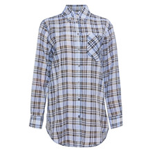 Heartmade Merle Shirt Blue Check