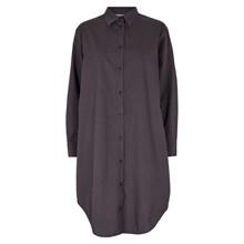 Basic Apparel Grå Vilde Skjorte kjole