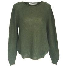 Sibin Linnebjerg  Army Green Rei Sweater