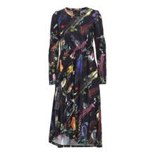 Blanche Beyond Lacroix LS Dress Multi-Color