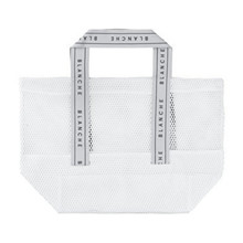 Blanche Hvid Tote Logo Bag