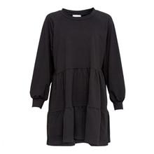 Noella Black Holly Sweat Dress