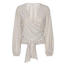 Blanche Comfy Wrap T-Shirt Ecru