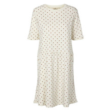 Basic Apparel Off-White Signe Dress