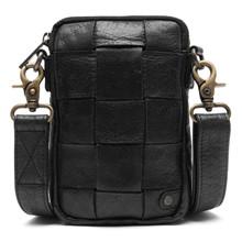 Depeche Black Mobile Bag Flet