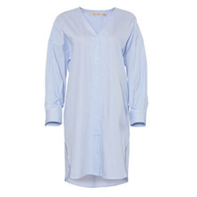 Rue de Femme Hella Bluestripe Shirt Dress