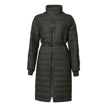 Rains Trekker W Coat Green