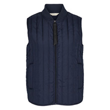 Basic Apparel Navy Louisa Vest