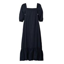 Tiffany Blue Navy Bella Dress Cotton Poplin