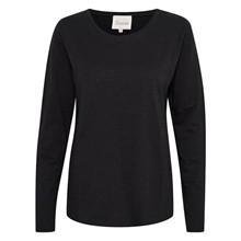 My Essential Wardrobe Black The OTEE Long Sleeve