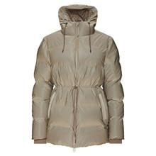 Rains Velvet Taupe Puffer W Jacket