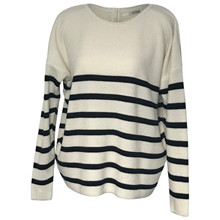 Sibin Linnebjerg Off White /Navy Bari Strik