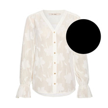 Rue De Femme Black Flow Rossa Shirt