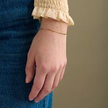 Rosas Blue Melange Scarf Triangel