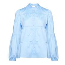Noella Light Blue Kiki Pearl Shirt Poplin