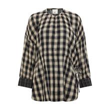 Heartmade Brown Check Merial Shirt