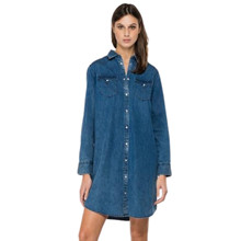 Replay Denim Dress w. Collar