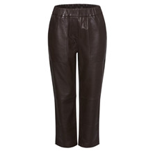 Heartmade Brown Nelvo Leather Pants