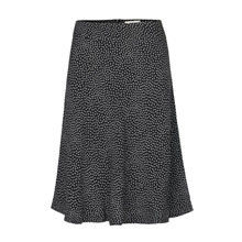 Mads Nørgaard Sort Dot Stelly Skirt
