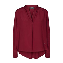 Mos Mosh Tarin Blouse Courage Red