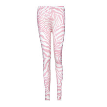 Noella Pink Zebra Leggings