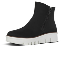 FitFlop Chunky Zip Ankle Boots Black