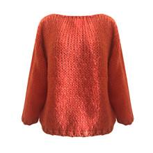 Dawn X Dare Orange Elivin LS Sweater