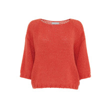 Dawn X Dare Orange Elvin SS Sweater