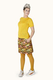 Margot Yellow Darling Strik Bluse