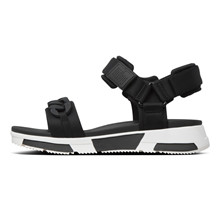 FitFlop Heda Chain Sandal Black