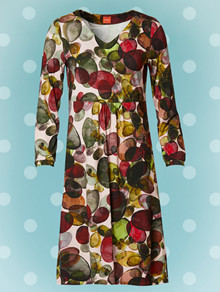 Du Milde Klaras Colourful Dots Kjole