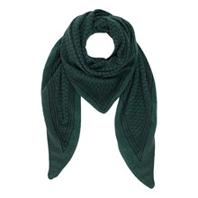 Gauge & Ply Ani Scarf Green Forest