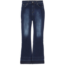 Please Longcut Raw Edge Jeans