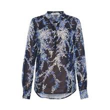 Rue De Femme New Doodle Shirt Blue
