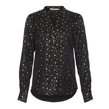 Rue De Femme New Doodle Shirt Black