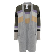 AJ 117 Project Sidney Grey Block Cardigan