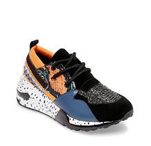 Steve Madden Orange/Navy Cliff Sneaker