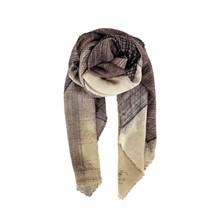Black Colour Goldvenezia Silketørklæde