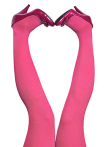 Du Milde Pink Candy Tights