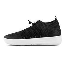 FitFlop Sort/Hvid Uberknit Slip On Sneakers