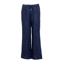 Tiffany Pants Linen Blue Navy
