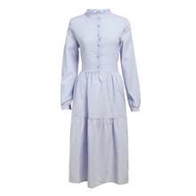 Noella Lipe Dress Cotton Checks Rose/Light Blue