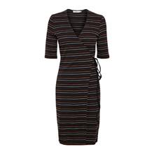 Gestuz Terri Wrap Dress Stripes