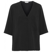 Norr Emery Shirt Black