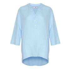 Tiffany Blå Double Cotton Shirt