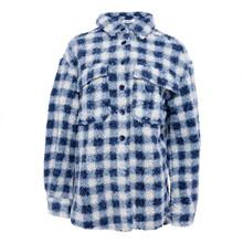 Noella Vigga Shirt Jacket Teddy Blue