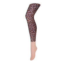 Sneaky Fox Leopard Natural Leggings